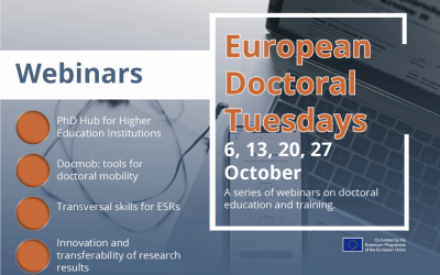 European Doctoral Tuesdays I Series of Webinars